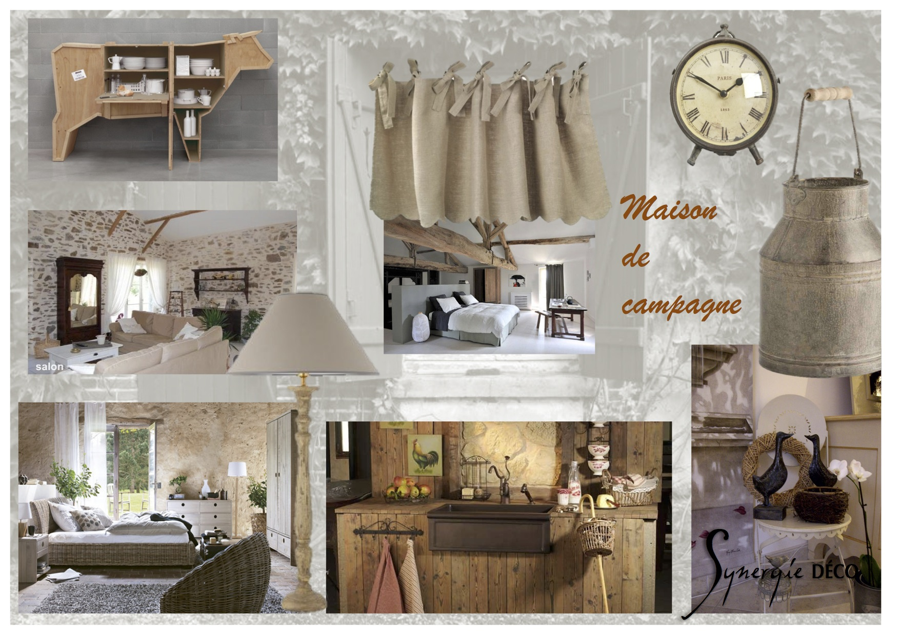 Planches ambiance synergie d co for Blog deco maison de campagne