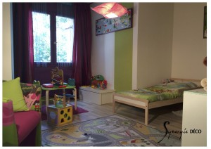 Chambre d'enfants mixte