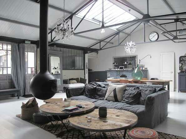 Tendance d co le style industriel synergie d co - Style loft industriel ...