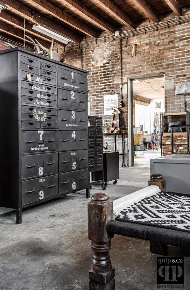 tendance d co le style industriel synergie d co. Black Bedroom Furniture Sets. Home Design Ideas