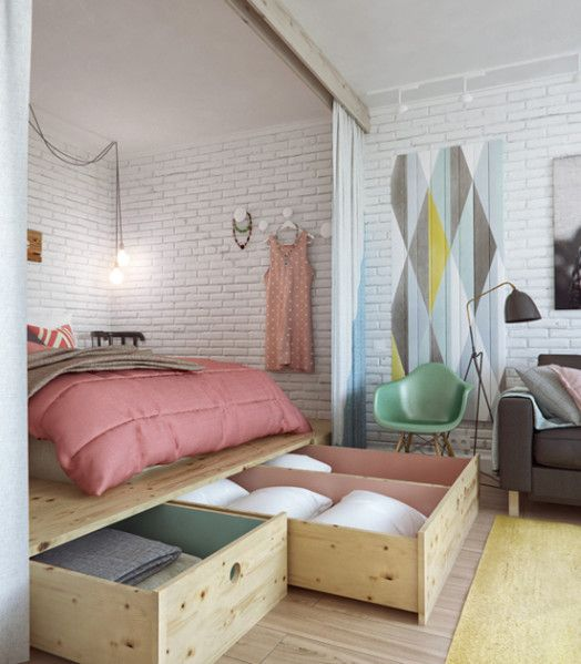 10 moyens de gagner des m tres carr s synergie d co. Black Bedroom Furniture Sets. Home Design Ideas