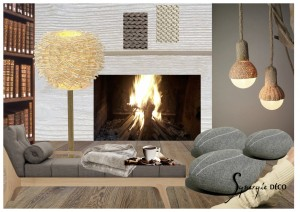 Planche ambiance hiver cocoon