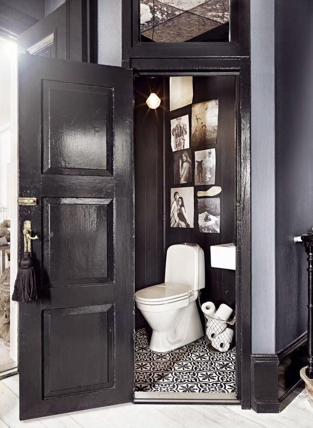 la d co aux toilettes n 39 est pas en reste synergie d co. Black Bedroom Furniture Sets. Home Design Ideas