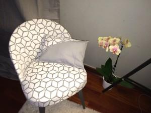 Petit fauteuil: APRES