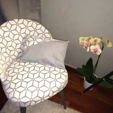DIY: habiller un vieux fauteuil