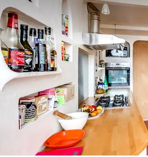 Rangement: les niches en cuisine