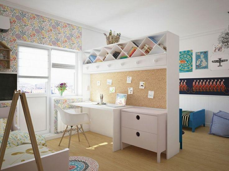 Spécial rentrée: Chambre d\'enfants à partager - Synergie Déco