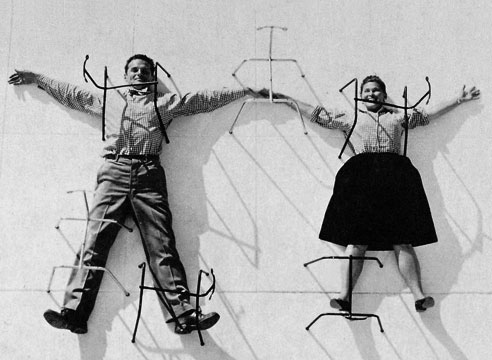 Portrait: Charles et Ray Eames