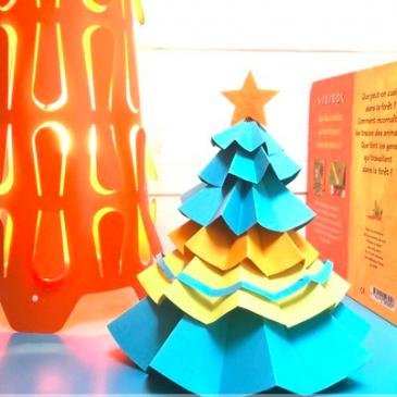 DIY spécial Noël: un sapin façon origami