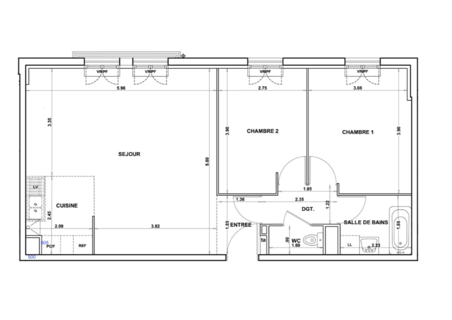 valorisation immobili re d 39 un appartement t moin limay synergie d co. Black Bedroom Furniture Sets. Home Design Ideas