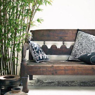 le bambou en intérieur, une valeur sûre pour tester l'ethnique sans risque.