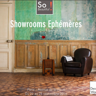 SO Beautiful! By Decoworkers , un showroom éphémère