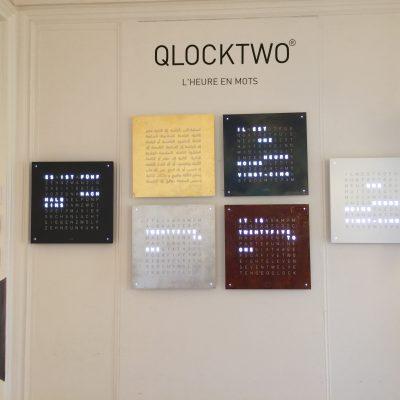 ClockTwo, une autre façon de lire l'heure