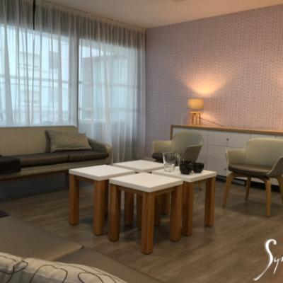 Le salon: un espace chaleureux
