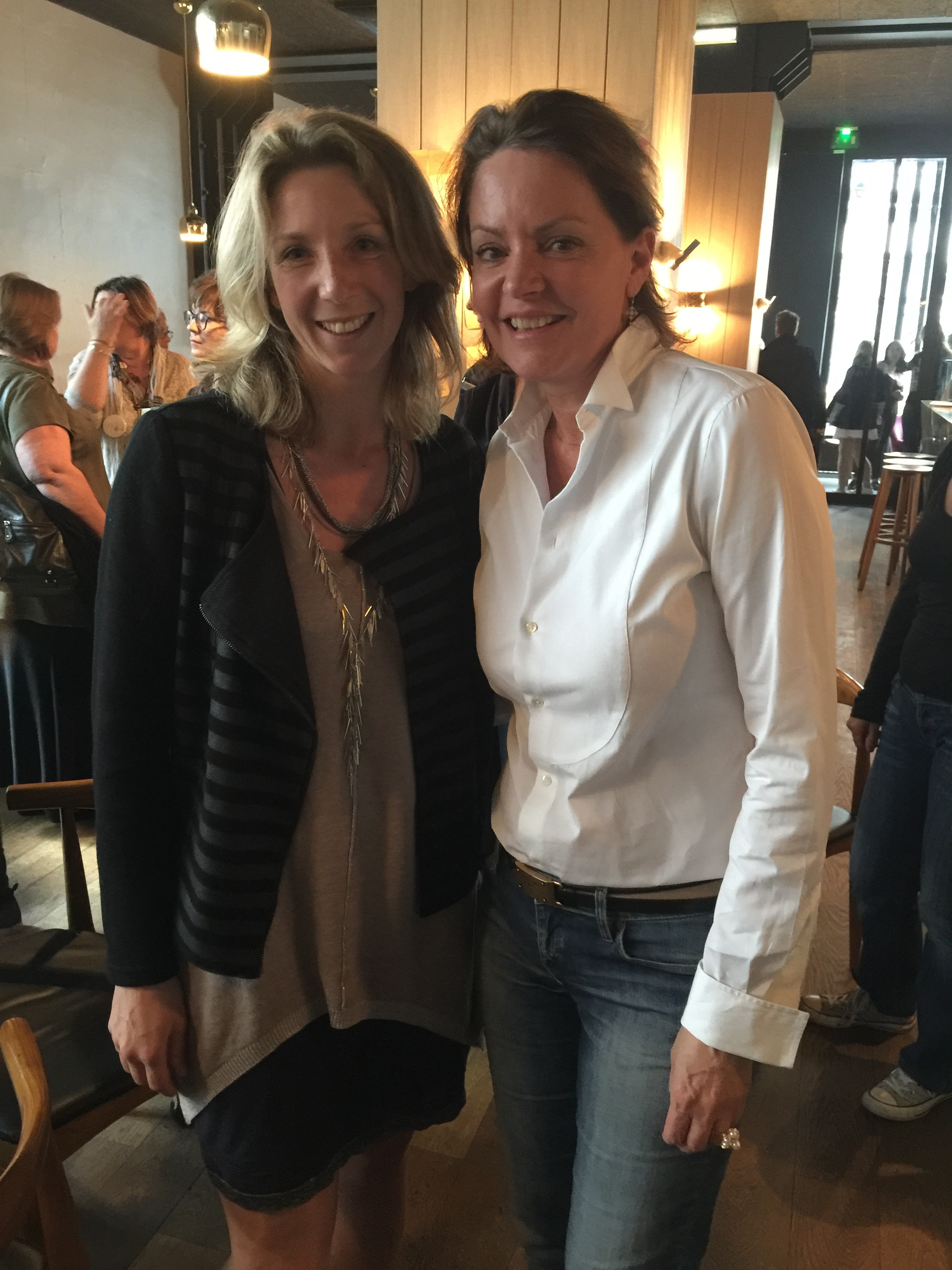 Cendrine dominguez et sandrine neimer de synergie d co for Interieur 78