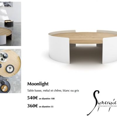 Table basse Monnlight