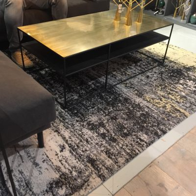 tapis visible au showroom