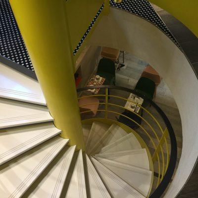 Un escalier qui ne laisse pas indifférent