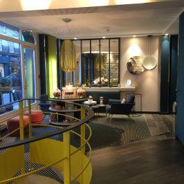 Visite déco: hôtel Duette, Paris 17eme