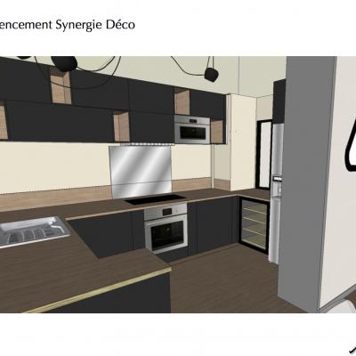 la cuisine de mes clientsen 3D