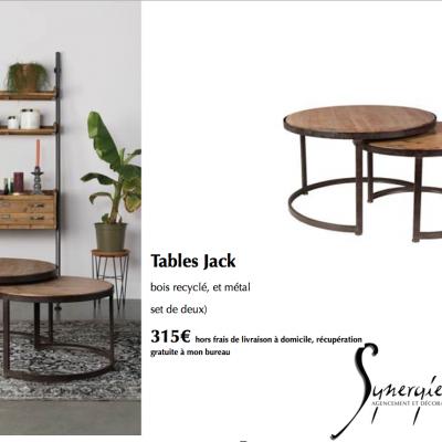 Tables JACK