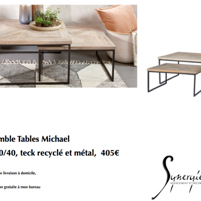Tables Michael