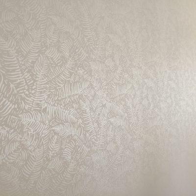 Zoom sur le revêtement mural tropical