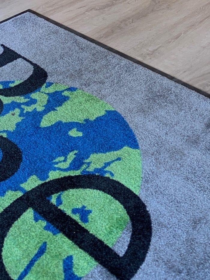 tapis signalétique, décoration et agencement bureaux décoratrice UFDI Synergie Déco